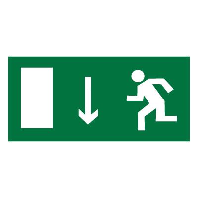 E10 Указатель двери эвакуационного выхода (левосторонний)